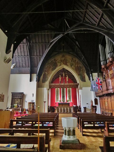christ church, cubitt town, isle of dogs, london