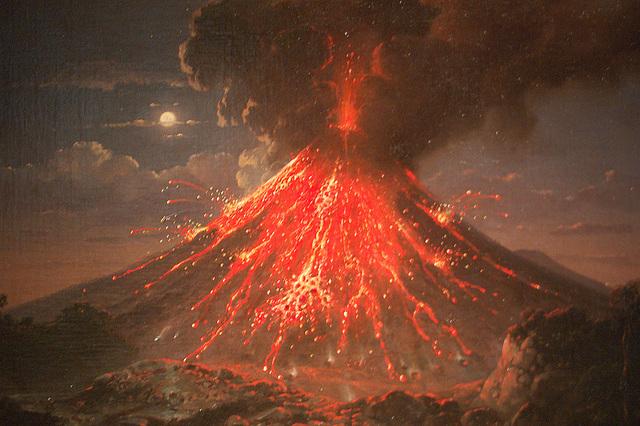Vulkanerupcio (Vulkanausbruch)