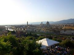 Vue générale de Florence - Italie