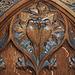 Choir Stall Carving