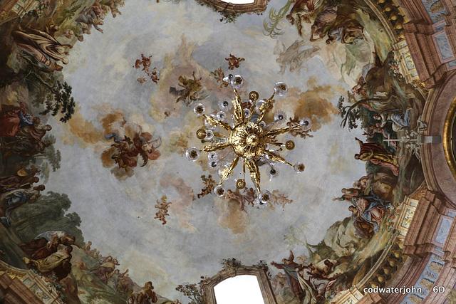 Haydn's Church Interior Detail - Ceiling
