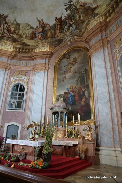 Haydn's Church Interior Detail