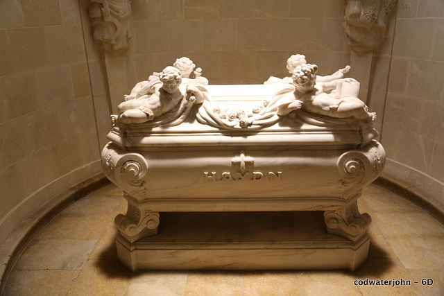 Haydn's Mausoleum in Haydn's Church, Eisenstadt