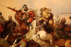 Leonĉasado (Löwenjagd)