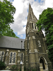 christ church, cubitt town, isle of dogs, london