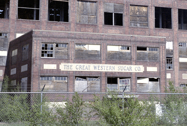 Great Western Sugar Factory, Ovid, Colorado