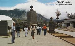 1988 Ecuador Equator Monument