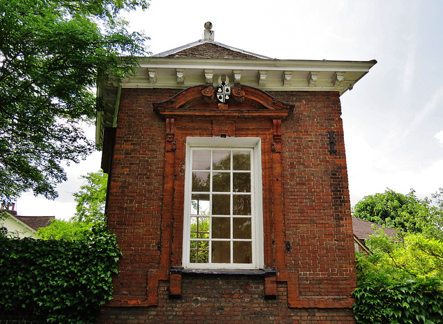 gazebo, the grange, croom's hill, greenwich, london