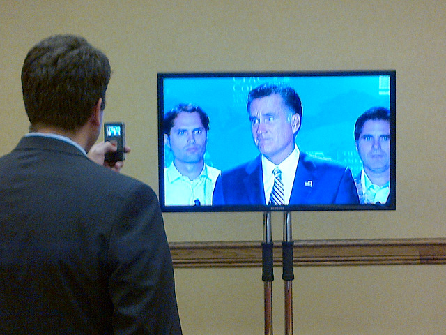 Mitt Romney, Surprise Speaker at CPAC Denver
