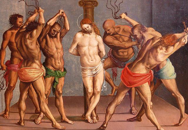 Sinmemskurĝantoj  kaj Jesuo  (Flagellanten und Jesus)