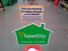 Broken Solar Panels Fallacy