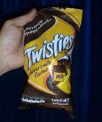 cheese & Vegemite flavoured Twisties!