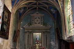 Eglise Saint-Lubin à Brou , la chapelle