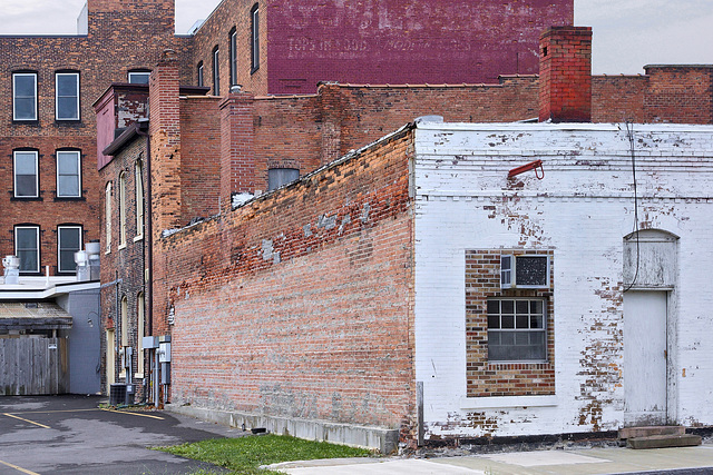 The Rear of the Former Gould Hotel – Viewed from Mynderse Street, Seneca Falls, New York