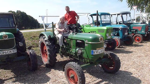 Traktorentreffen in Badra - Thüringen