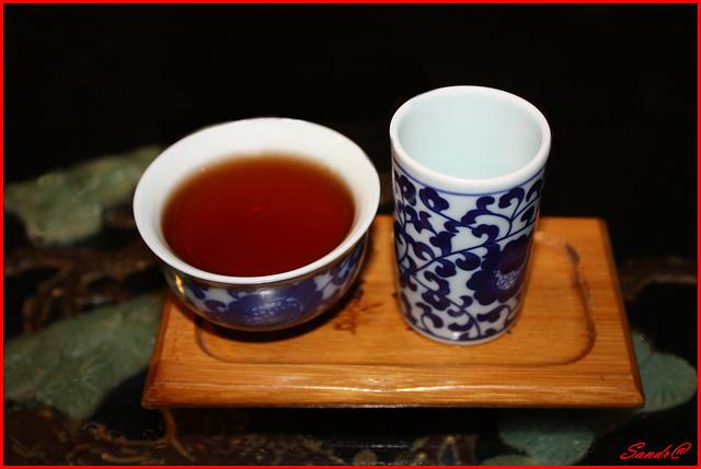 Le thé est servi !