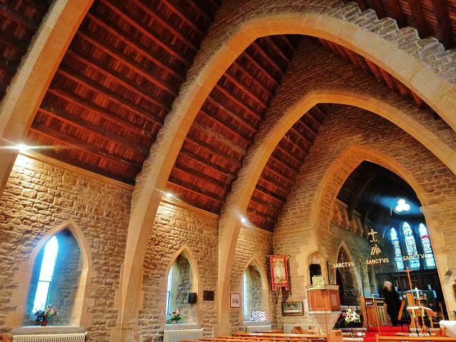 bothenhampton church, dorset.