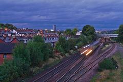 Stormy Autumnal Sky, Sheffield