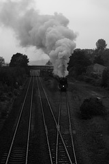 BR standard class 7 70013 Oliver Cromwell