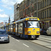 Leipzig 2013 – Tram 2112 on the Jahnallee