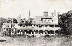 Garden Facade, Grey Friars, Dunwich, Suffolk