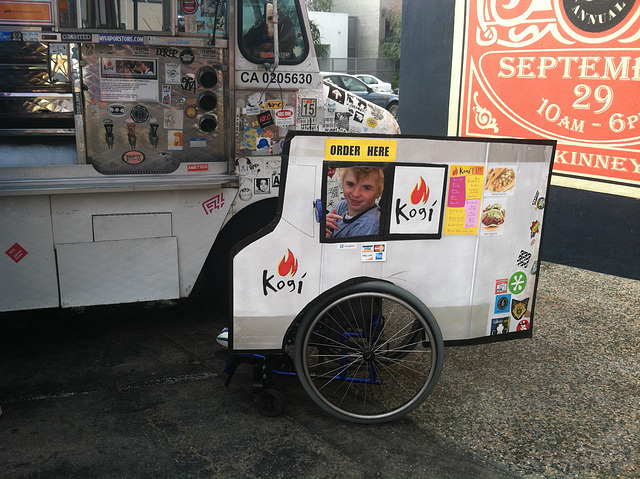 Kogi Truck Costume at Kogi Truck 2