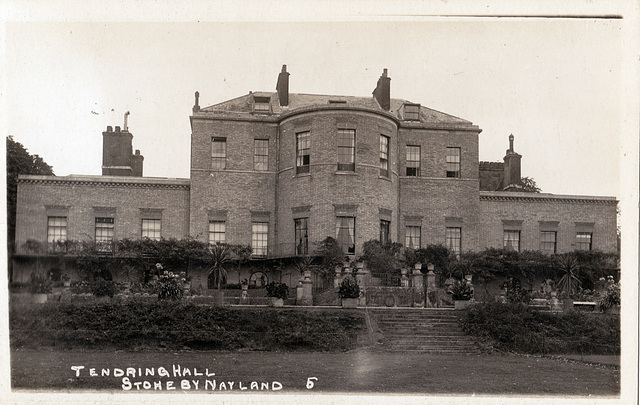 Tendring Hall, Suffolk (Demolished) - Garden Facade,