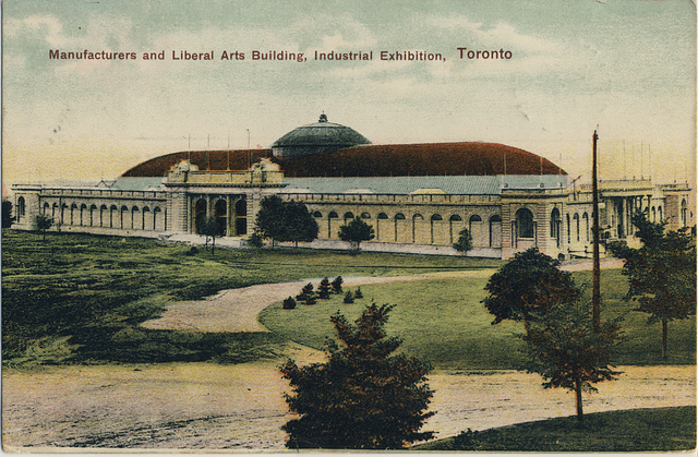 Manufacturers and Liberal Arts Building, Industrial Exhibition, Toronto