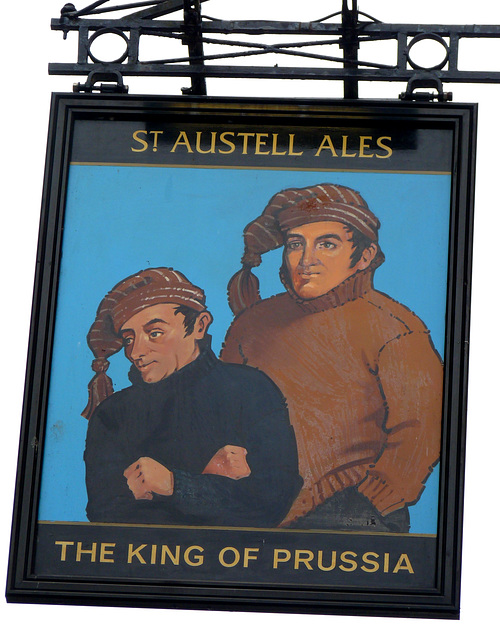'The King of Prussia'