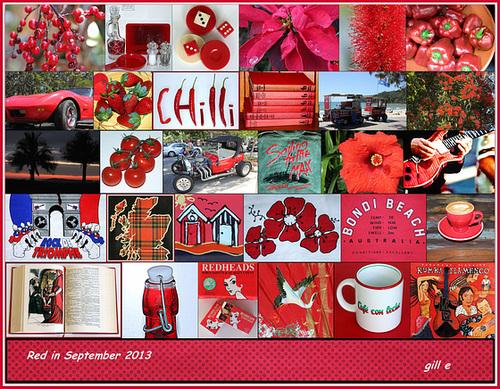 Red in September 2013