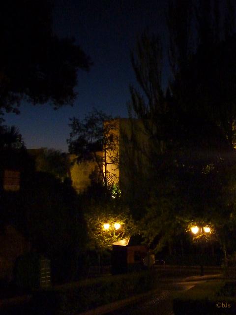 Nuit à l'Alhambra