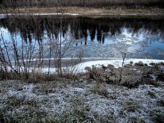 Ice on the Chena