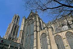Nederland - Utrecht, Domkerk en Domtoren