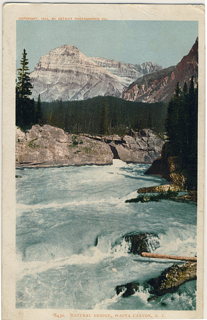 6430 - Natural Bridge, Wapta Canyon, B.C.