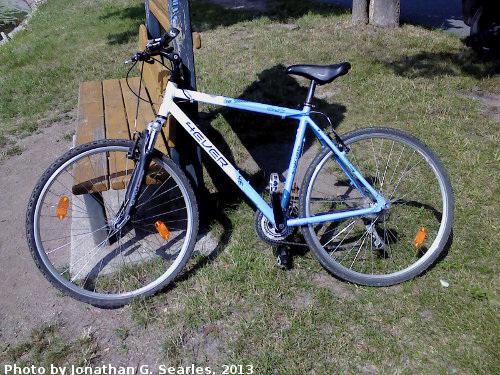 Rental Bike from the Hotel Golf, Nymburk, Bohemia (CZ), 2013