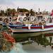 ...bateaux de pêche à Sanary...metier difficile...