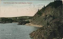 Coal Chutes, Jack Fish, Lake Superior, Canada