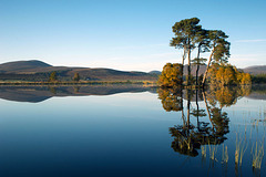 Lochan Dubh, Ardross, Ross-shire, Scottish Highlands