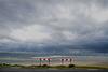 Kite surfing die-hards