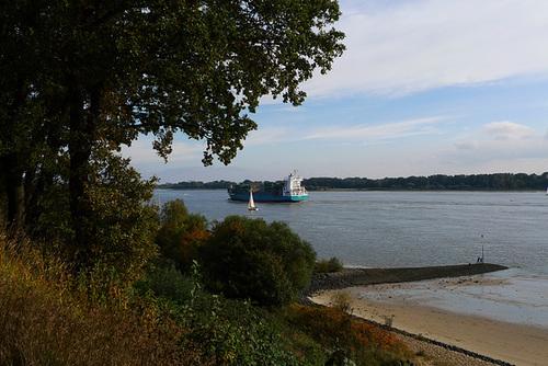 Elbe bei Wedel -- elbblick-1170375