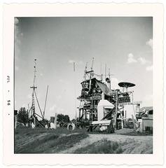 Sykes Ranch, Aberdeen, Mississippi, 1956
