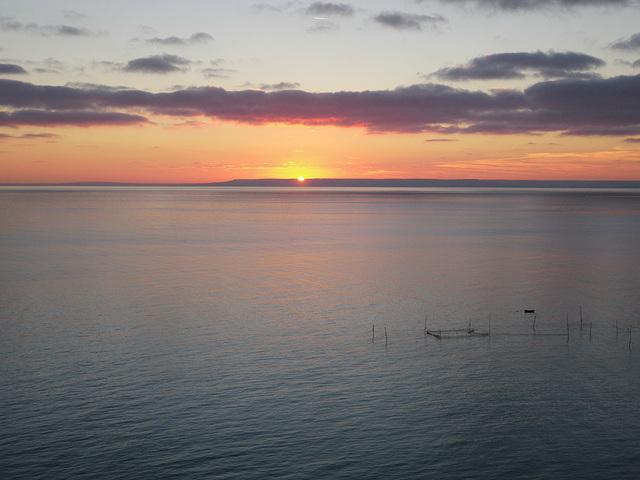 Cap Kaliakra - Coucher de soleil sur la mer Noire 2