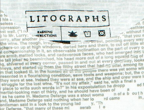 Litographs - A Tale Of Two Cities