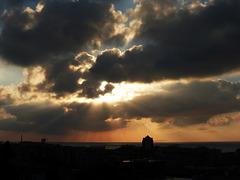 a morning sky