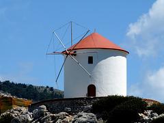 Windmill near Panormitis