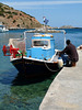 Fisherman and Boat at Sesklia