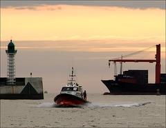 pilotage du Havre