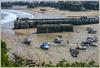 Hafen und Newquay Bay
