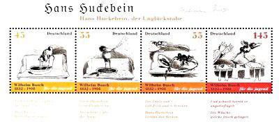 Vilhelmo Busch: la korvo Joĉjo Hukebajn (Hans Huckebein)
