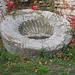 Thermes de Varna : fontaine à la coquille saint-Jacques.